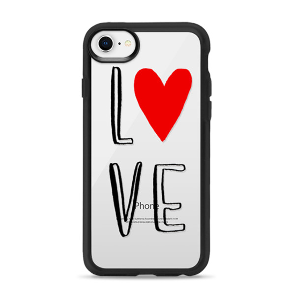 official photos b38c3 46533 Classic Grip Case for iPhone | Love, Hearts