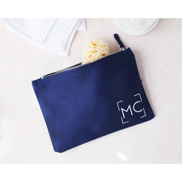 2ba772e830ae Personalised Monogram Wash Bag