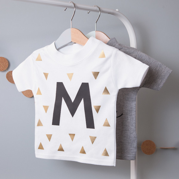 f3c29a56b86 Personalised Initial Children's T Shirt