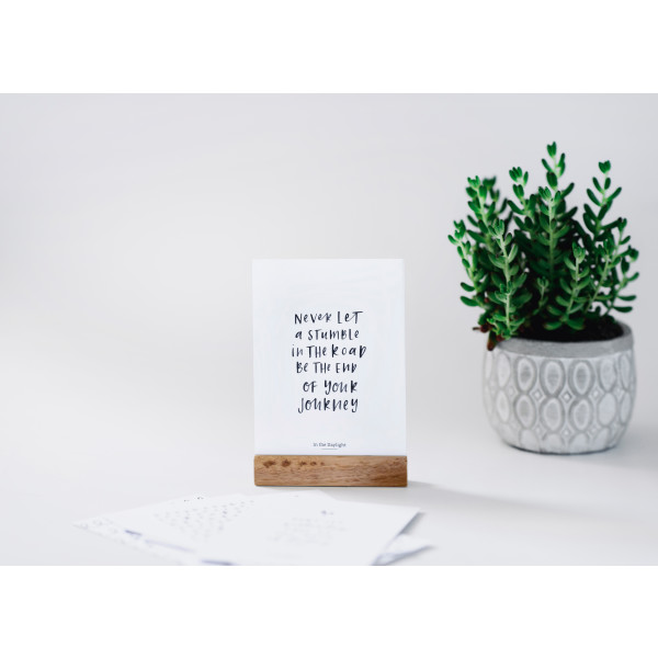 Inspirational Desk Quote Card Set