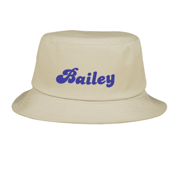 d00fbca5d98 Personalised Sun Hat - Funky Type