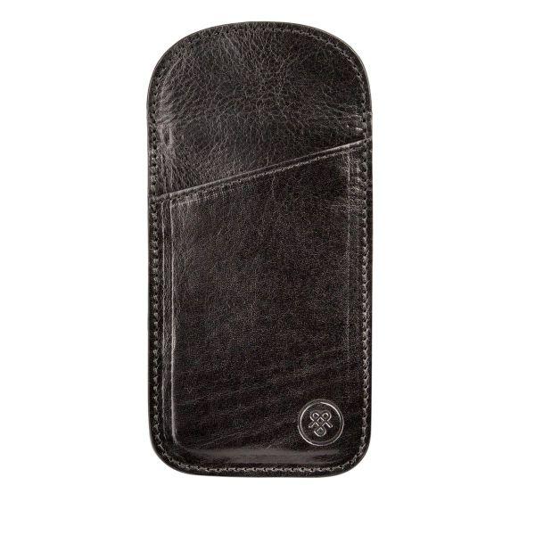 07b632ede2c Rufeno slim Italian leather glasses case