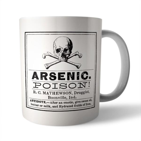 Arsenic Poison Ceramic Mug