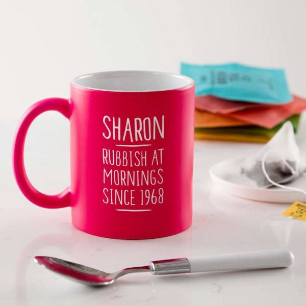 Personalised 50th Birthday Mug For Her