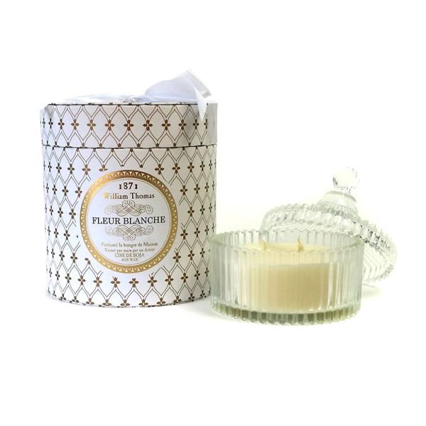 Ormolu Fleur Blanche 3 Wick Candle Hardtofind