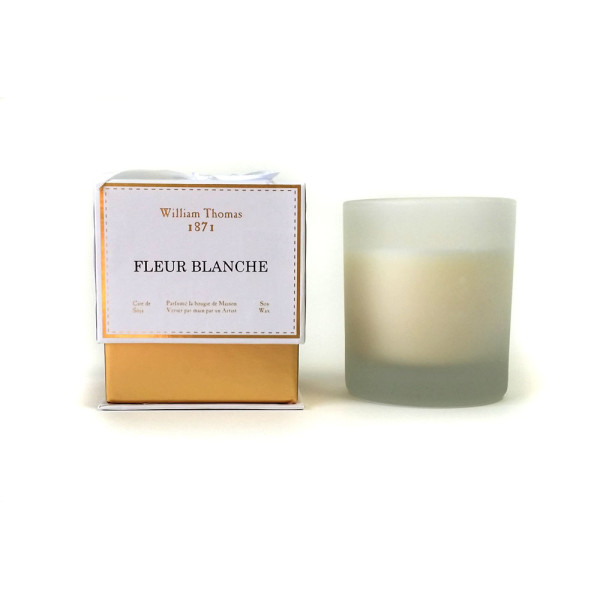 Ormolu Fleur Blanche 1 Wick Candle Hardtofind