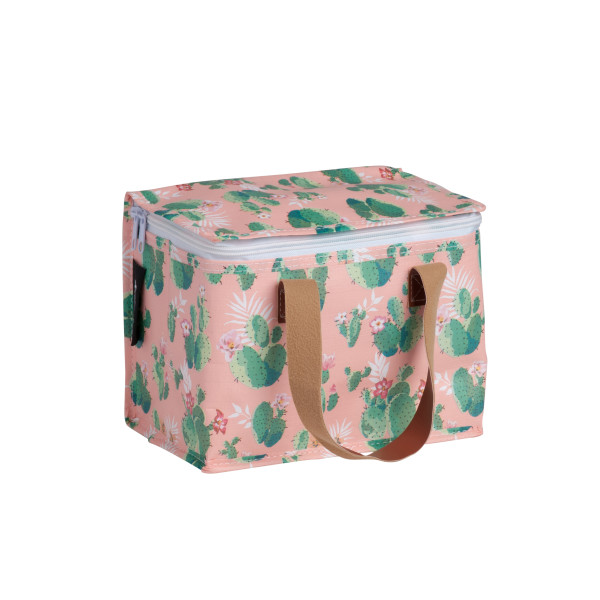 9b9bfba76f26 Insulated lunch box bag in Cactus Print