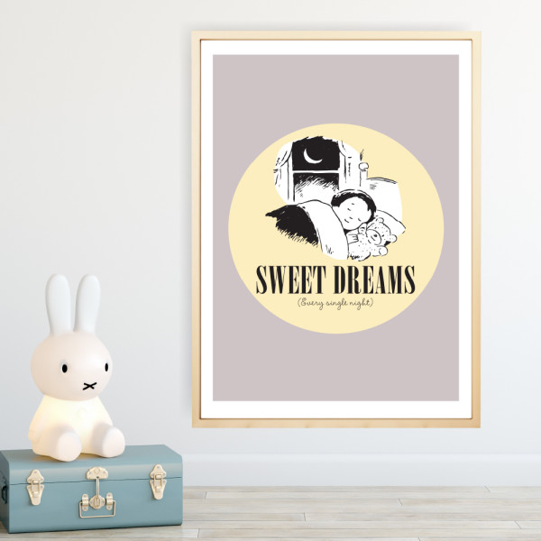 5169a8b1c Sweet dreams art print | hardtofind.
