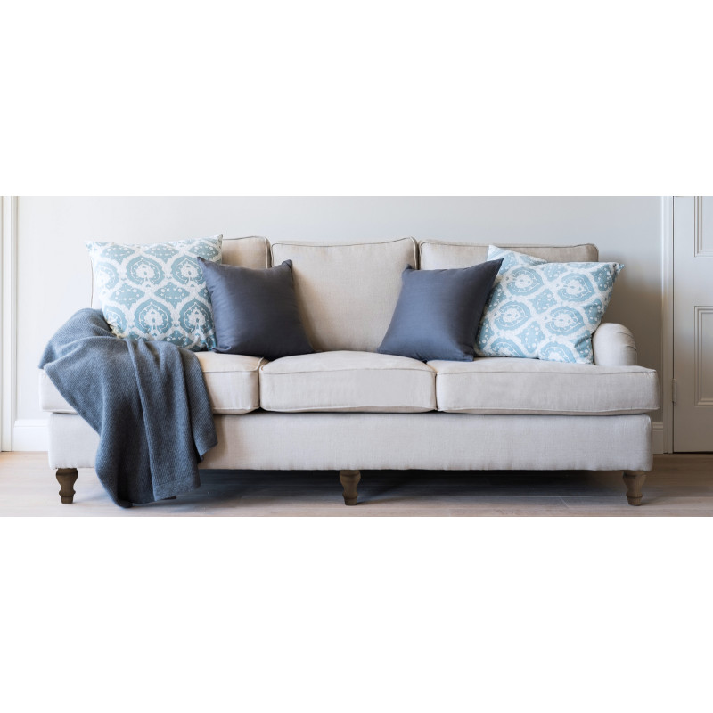 Linen Roll Arm Sofa | Hardtofind.
