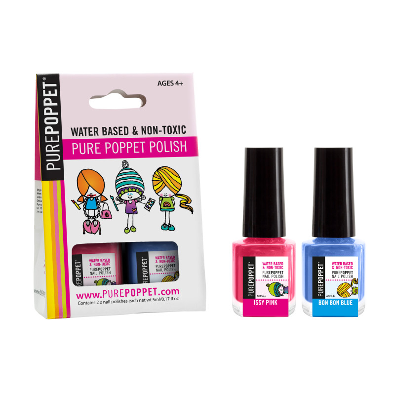 Water-based and non-toxic kids\' nail polish pack | hardtofind.