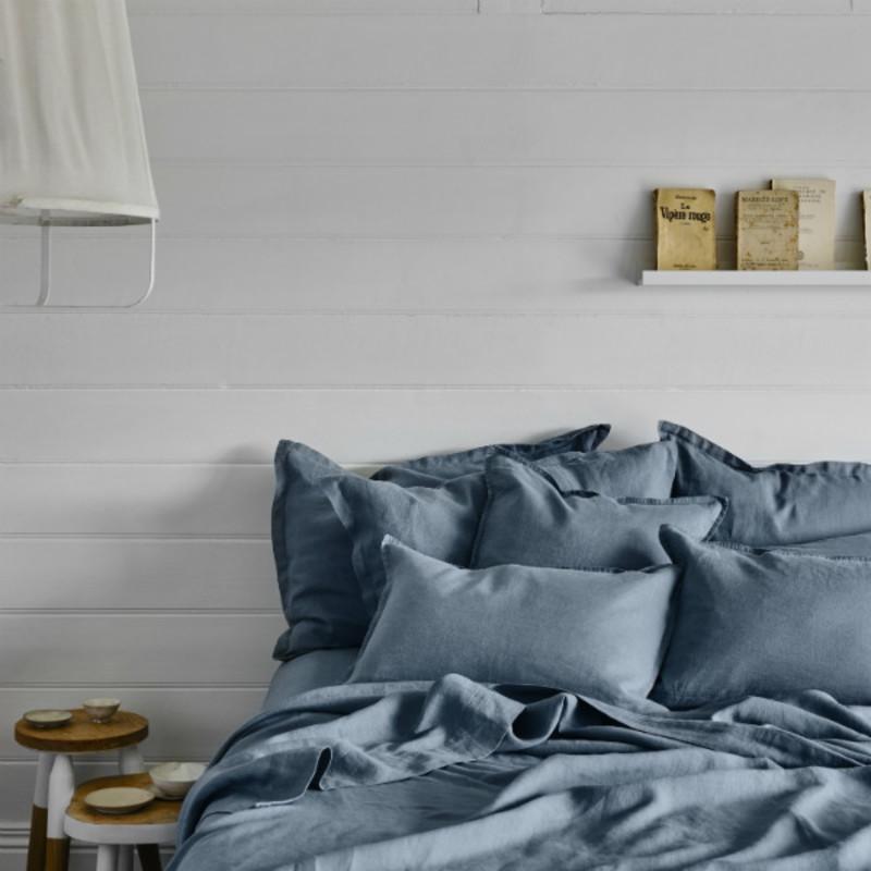 Linen Bed Sheet Set