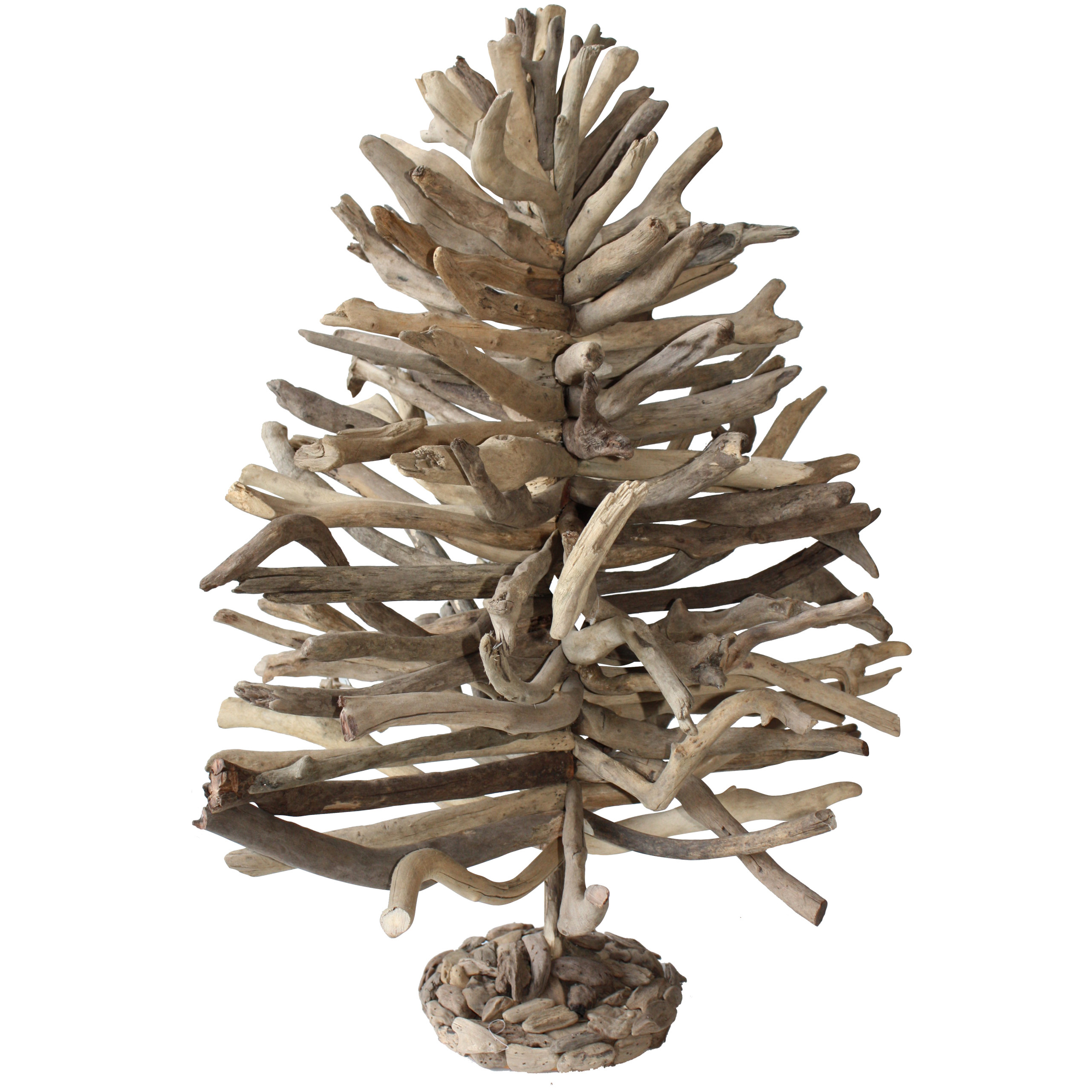 Driftwood christmas tree hardtofind for How to make a hanging driftwood christmas tree