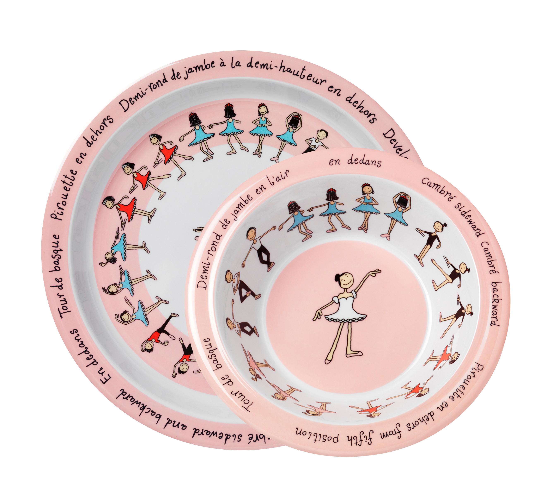 tyrrell katz ballet melamine plate and bowl set hardtofind