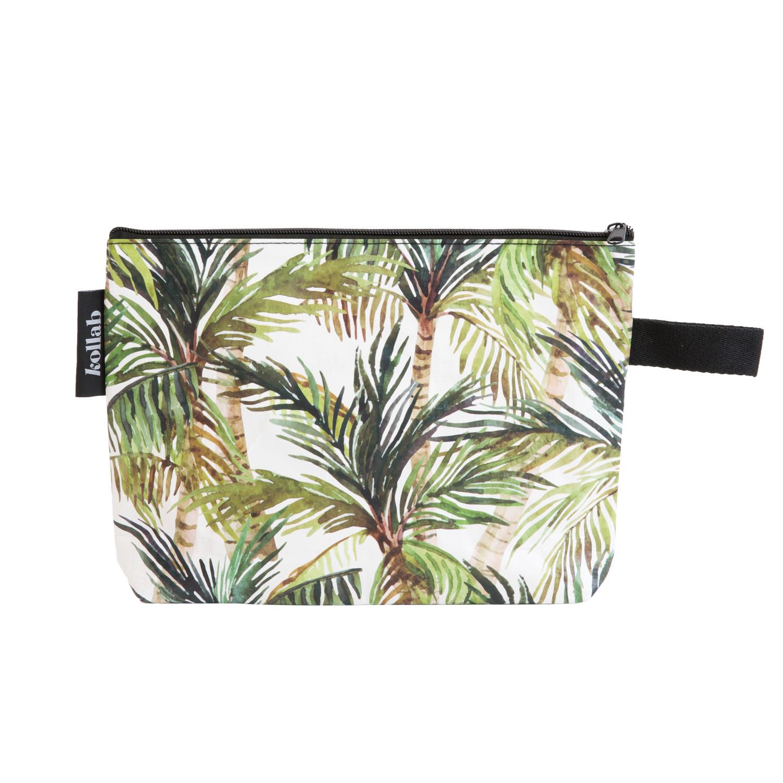 Cabana Palm Straw Clutch