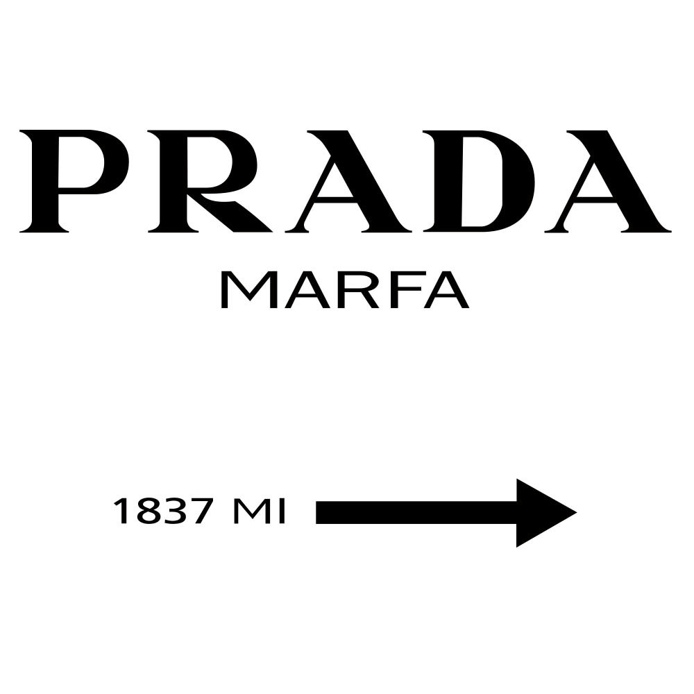prada marfa 1837mi poster hardtofind. Black Bedroom Furniture Sets. Home Design Ideas