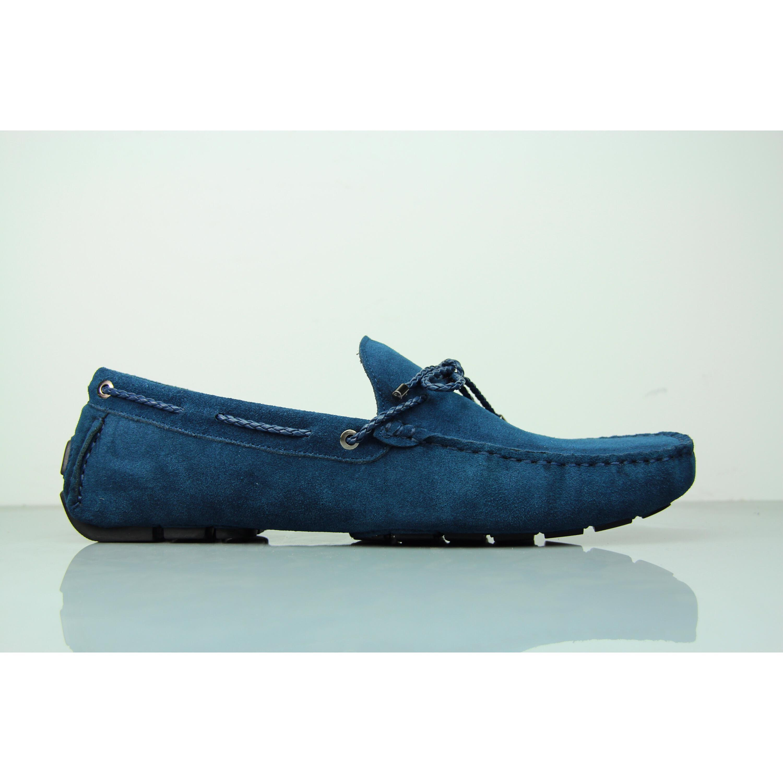 Loafers rope bright blue mens shoe FANE Footwear