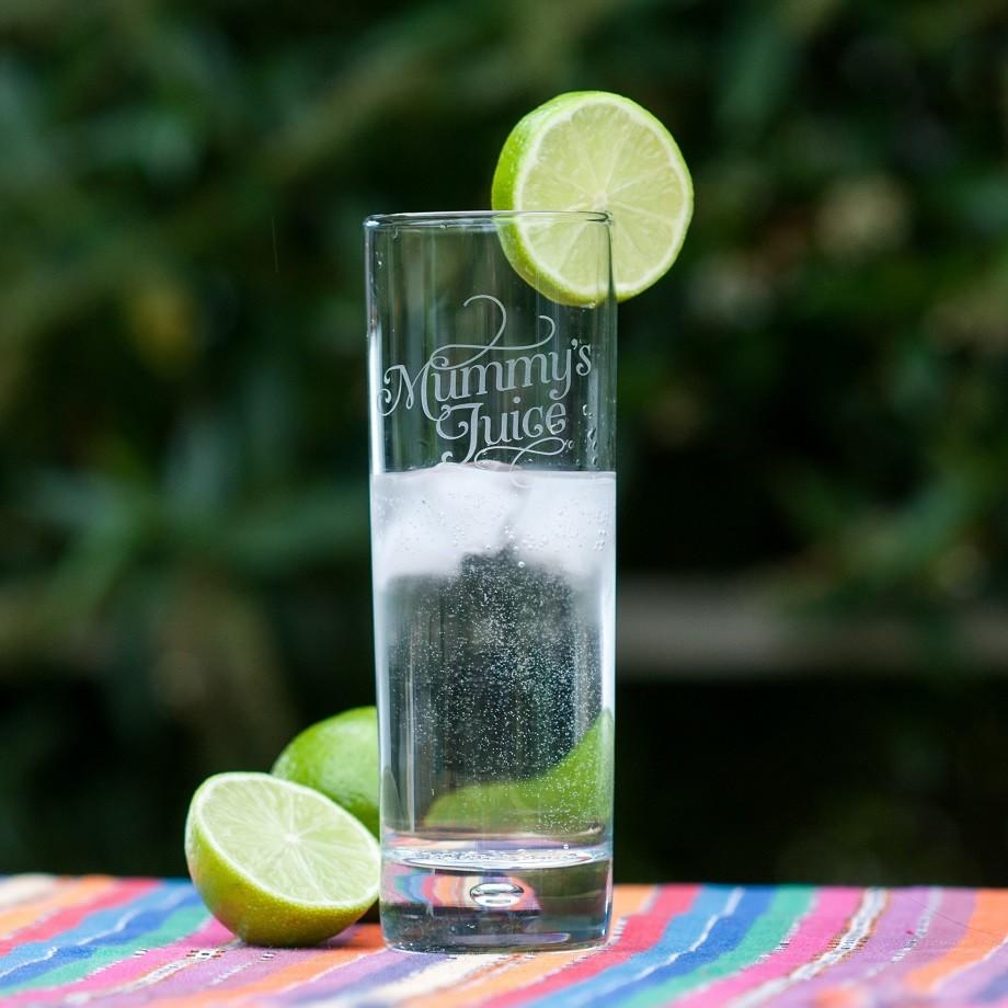Quirky Wedding Gift Ideas Australia : Mummys Juice Gin Glass hardtofind.