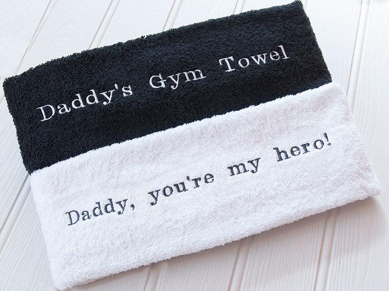 Personalised Embroidered Gym Towel Hardtofind