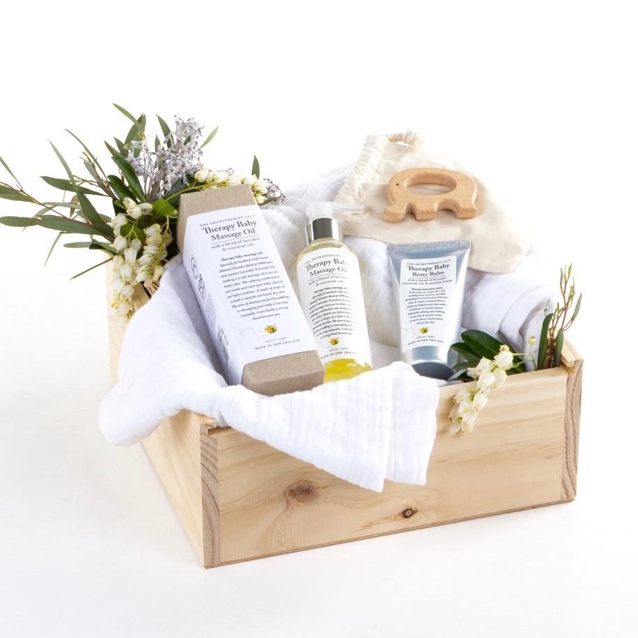 Quirky Wedding Gift Ideas Australia : Baby Suite Hamper Gift Box hardtofind.