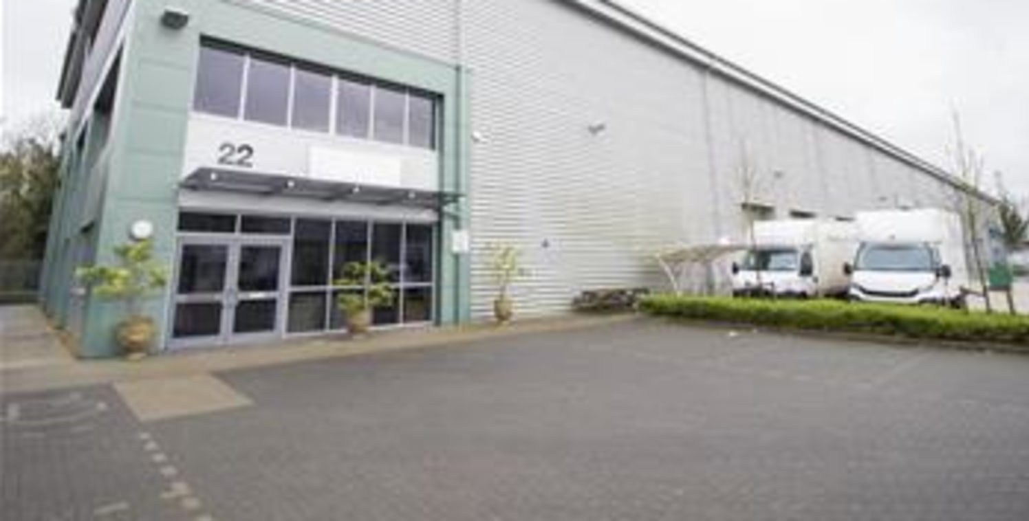 Newly constructed, high specification warehouse unit designed to meet the needs of modern businesses. The unit benefits from fully fitted first floor offices, fully ftited out undercroft, two electric loading doors and generous car parking provisions...