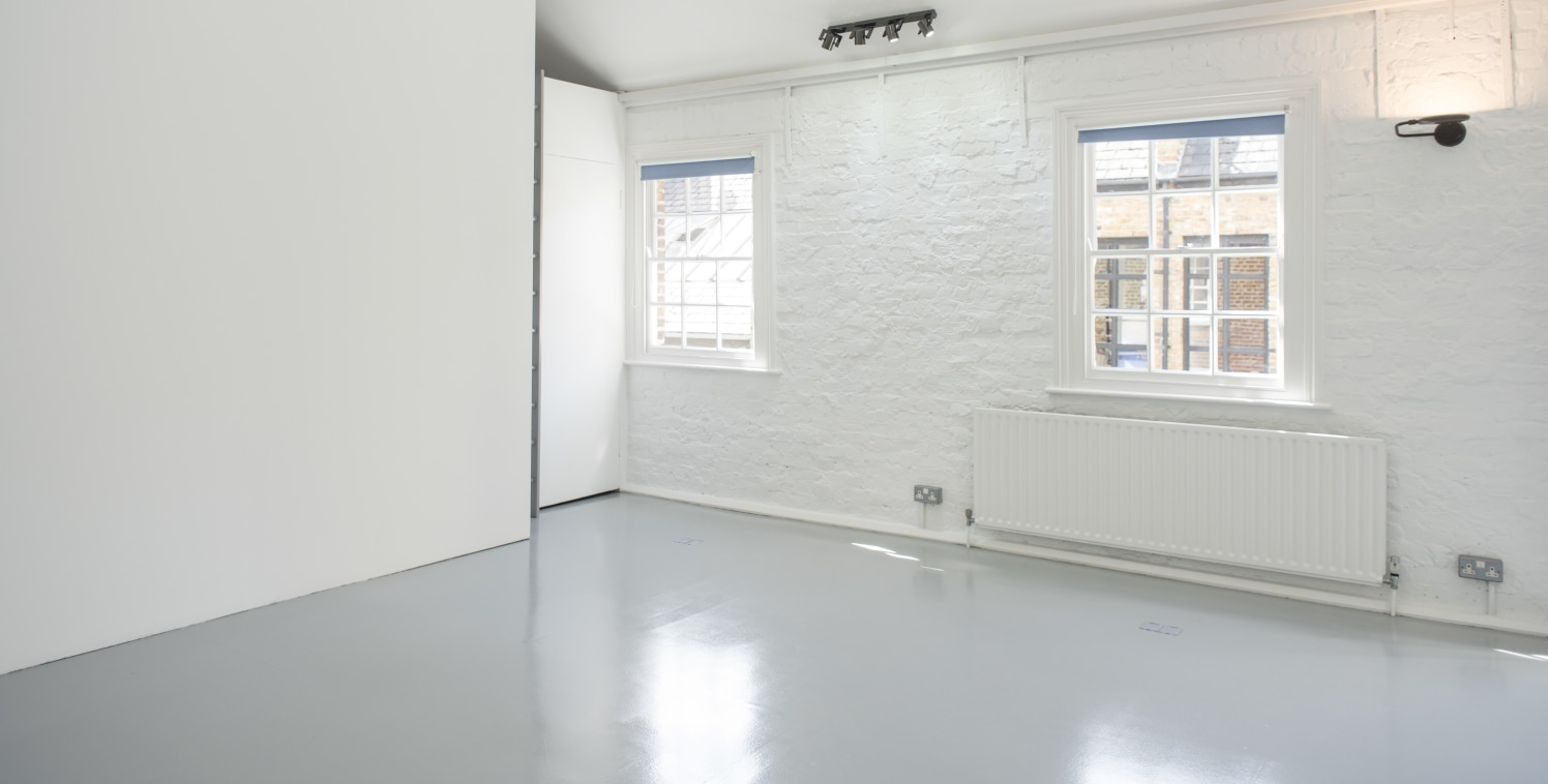 Available from the 1st September 2018. This self-contained office is split level, situated on the ground and first floor of this converted mews building, within a secure gated mews. The ground floor comprises live/work use with a meeting room, recept...