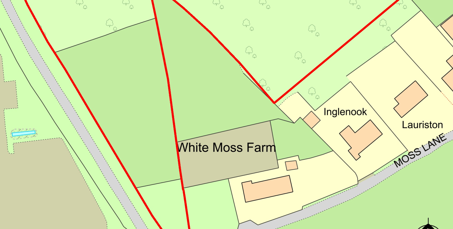 The site provides an excellent development opportunity STPP. The site is mainly soft, grassed farmland, which has an employment allocation in the West Lancashire Borough Council local plan (see attached plan).