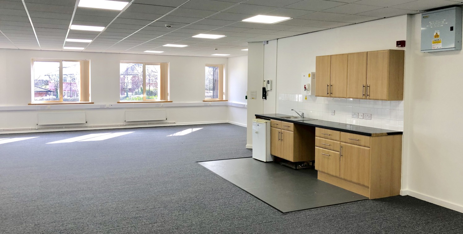 Sycamore House comprises a modern detached two storey office building, situated in a prominent position on the entrance to the business park.  The two ground floor office suites are available. Both are open plan and can be partitioned to suit an occu...