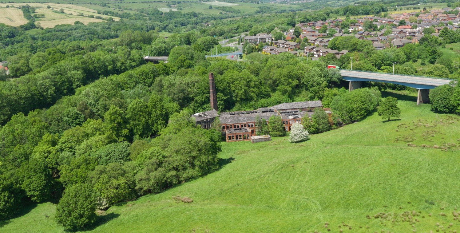 This is the site of the former Edenwood Mill. It is within a tree lined valley area adjacent to an attractive stream.   This is a unique opportunity to purchase a brownfield site in a green belt location, together with adjacent land in separate owner...