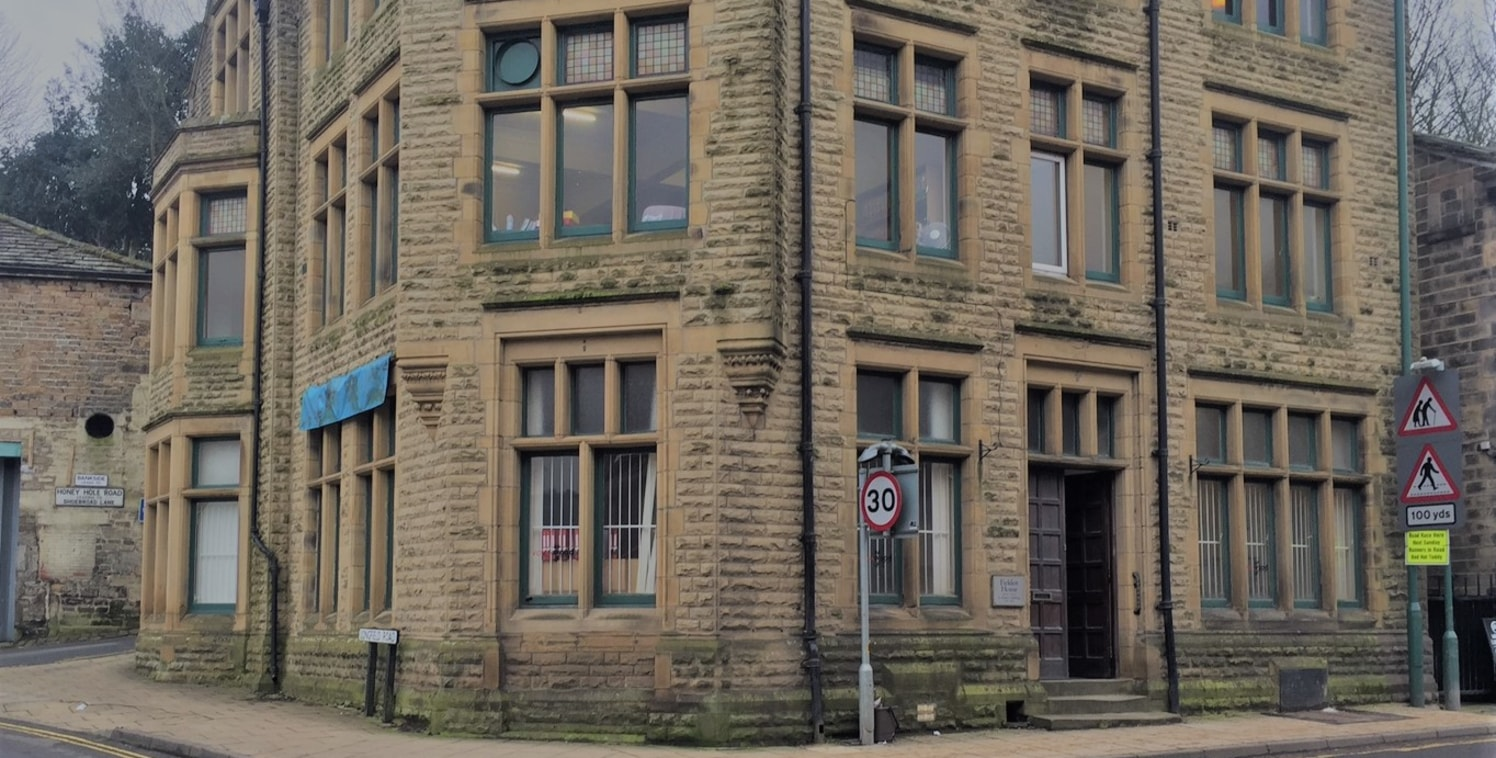 The premises briefly comprise the ground floor of a stone built detached character office building having a prominent roadside position on the busy A6033 into Todmorden and situated directly next to Morrisons supermarket.  Internally the premises ben...