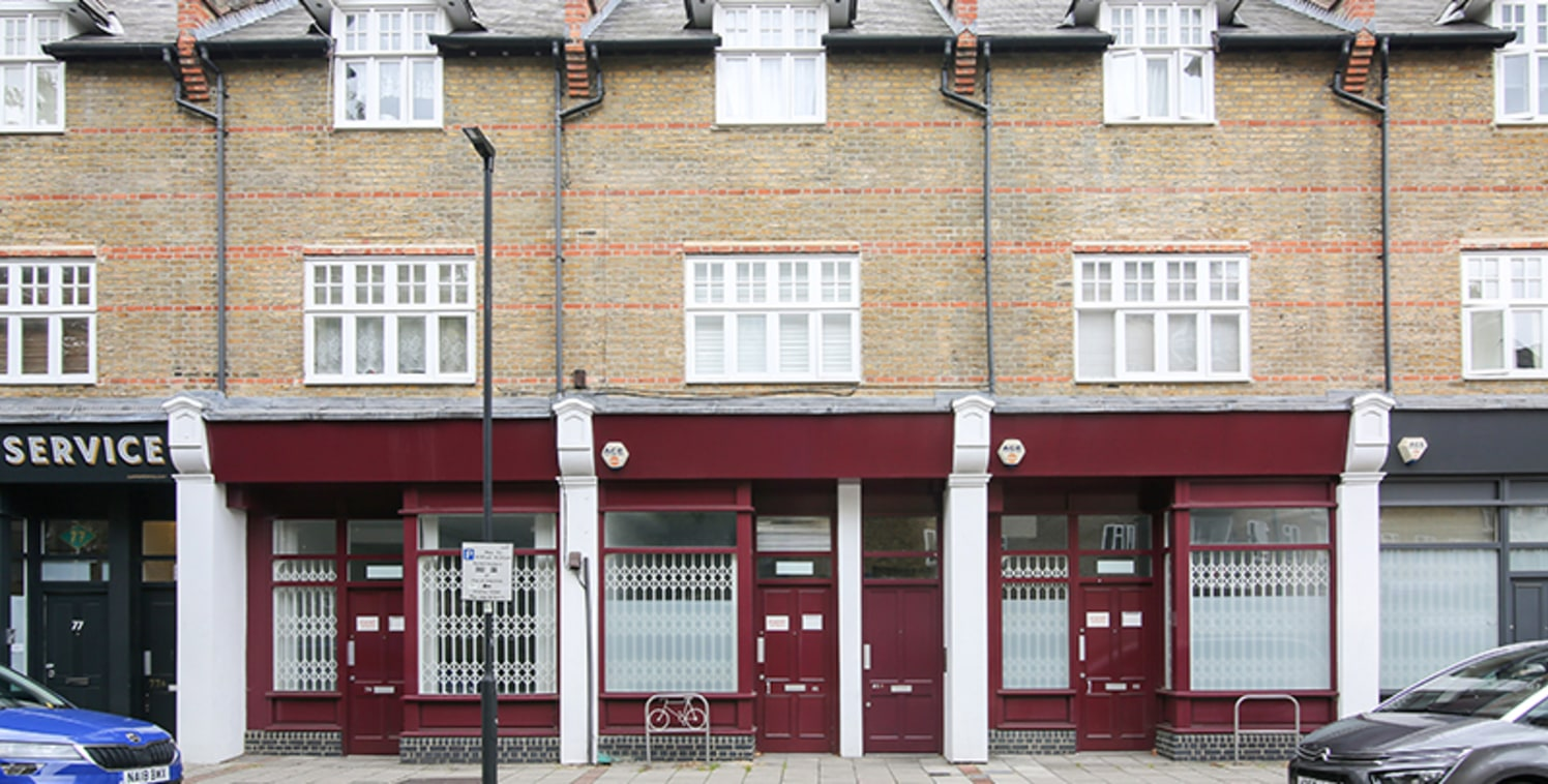 Found within a parade of offices, the unit is found on the ground floor with 4m of frontage overlooking Lambeth Walk. The unit benefits from electronic roller shutters and a rear garden space.  The property is located in Lambeth and is surrounded by...