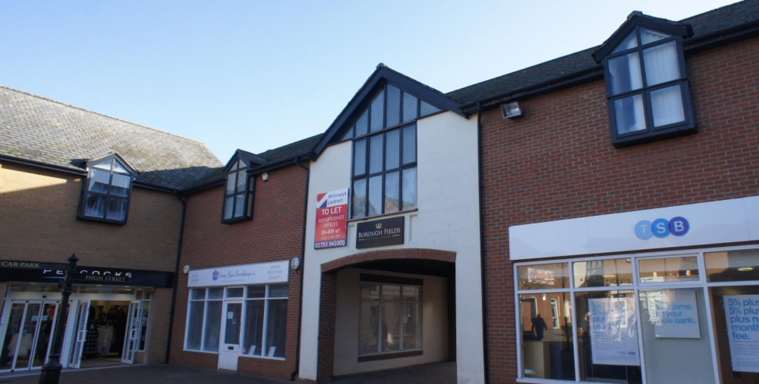 Borough Fields is a courtyard style shopping centre, anchored by Sainsburys and located in the heart of Royal Wootton Bassett.<br><br>The town centre is located approximately 1.5 miles from Junction 16 of the M4, providing easy access to the national...