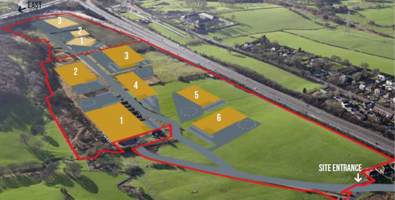 New 40 acre Industrial/Distribution development located at Junction 26 of the M62 Motorway. Buildings are available on a Design & Build basis.