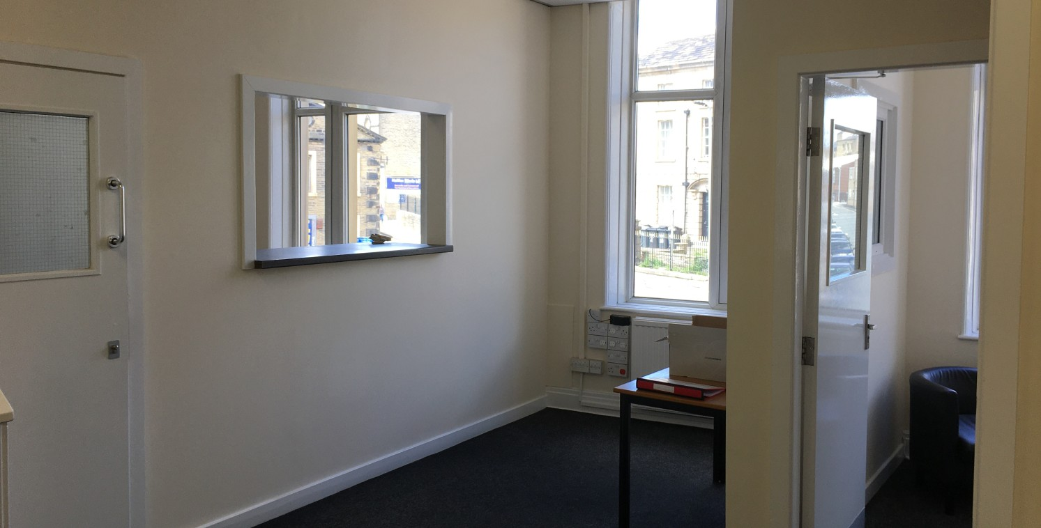 The property briefly comprises first and second-floor office accommodation within an attractive three-storey stone built property. The office has a dedicated private entrance off Bull Green leading up to a well-presented entrance reception. The inter...