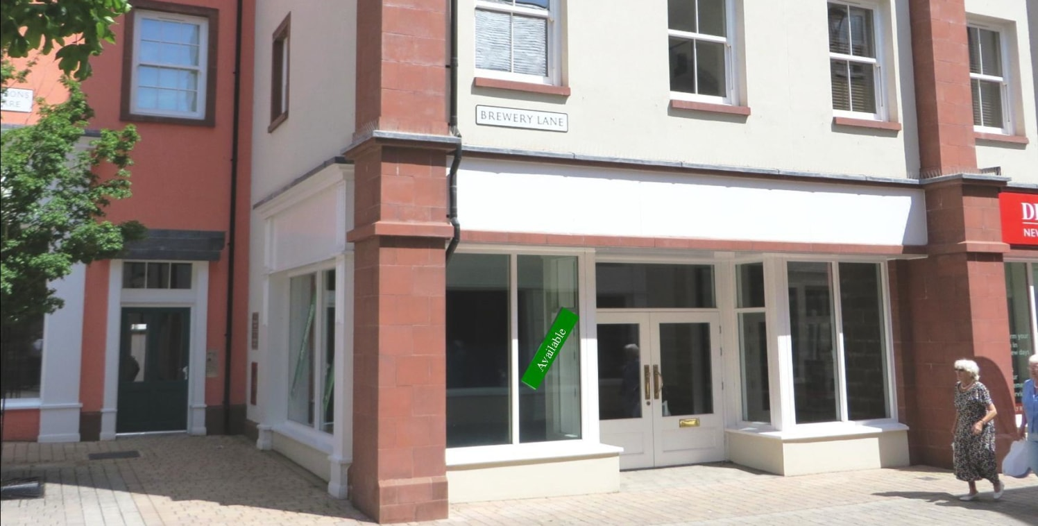 Ground floor retail unit adjacent to Dream Doors and Boots Opticians. 1,340 sq ft of ground floor space, ready to be fitted out to meet an individual occupier's requirements. Regular shape with return frontage onto Two Lions Square. Terms: New lease....