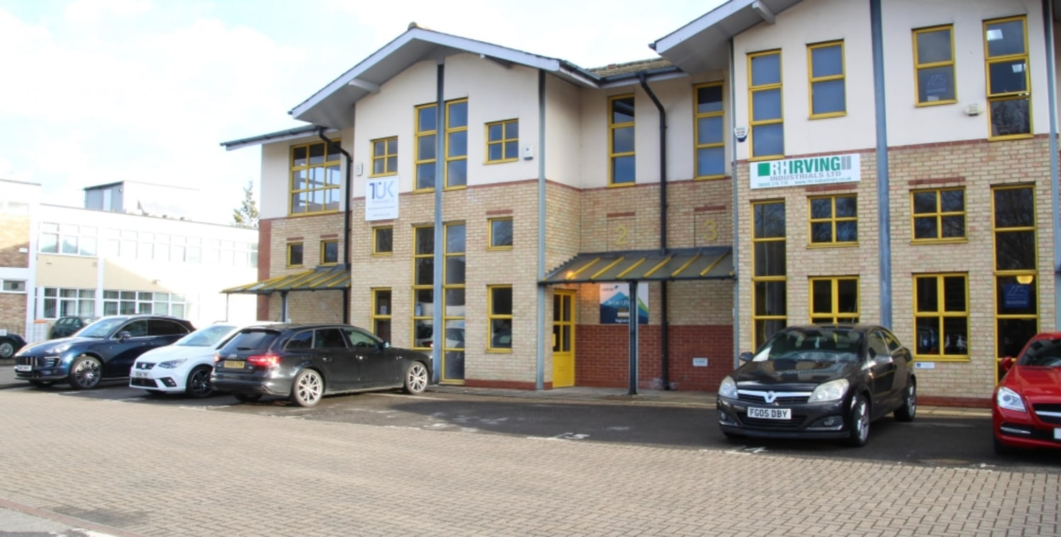 Two storey business unit