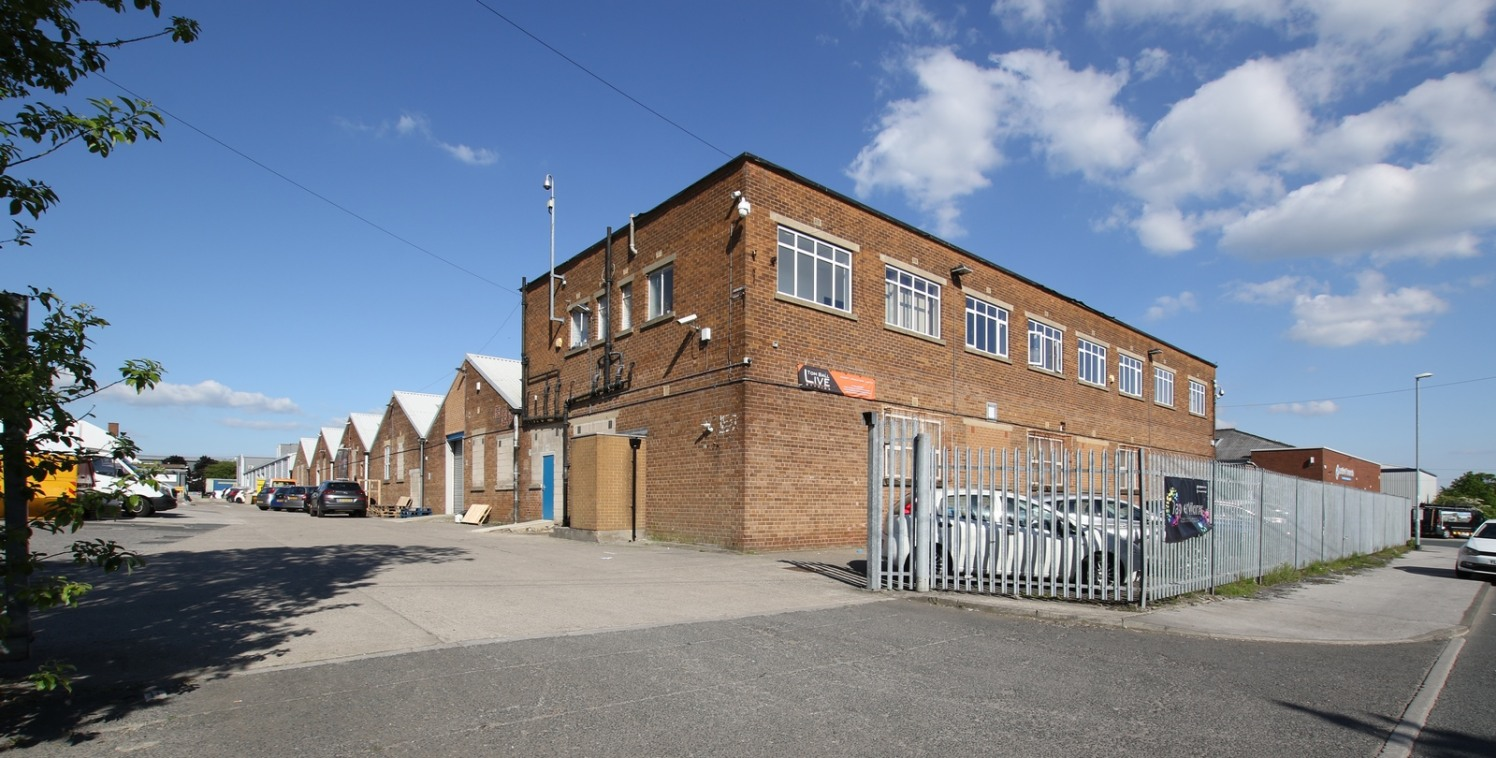 The property provides flexible industrial space with a solid concrete floor, two roller shutter doors, male and female W.C's, high bay sodium lighting and 3 phase electricity.   Externally the unit has a yard and also parking areas.