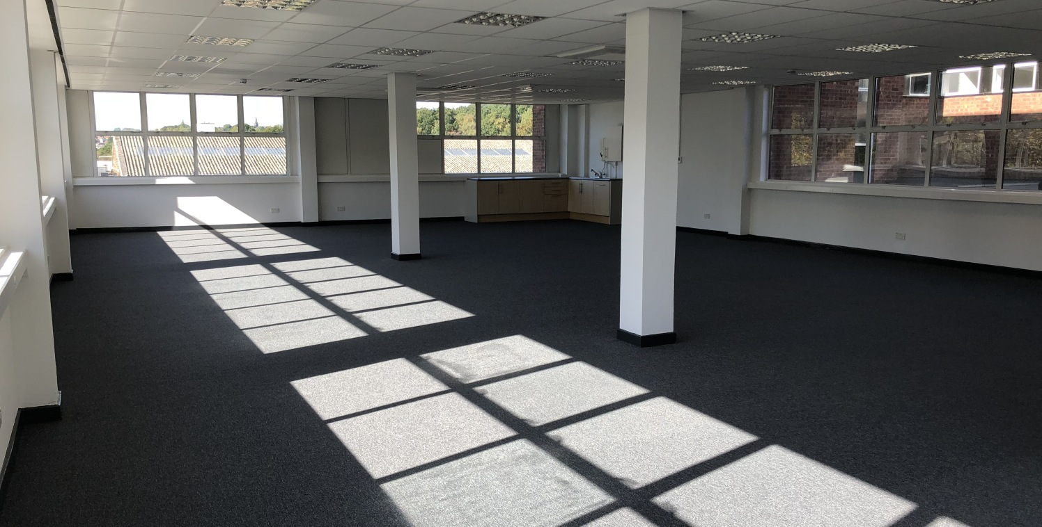 Friden House comprises a substantial two-storey, self-contained office building providing accommodation within four separate suites and access from a central reception / entrance area.  Friden House is divided into a ''front building'' and a ''rear b...