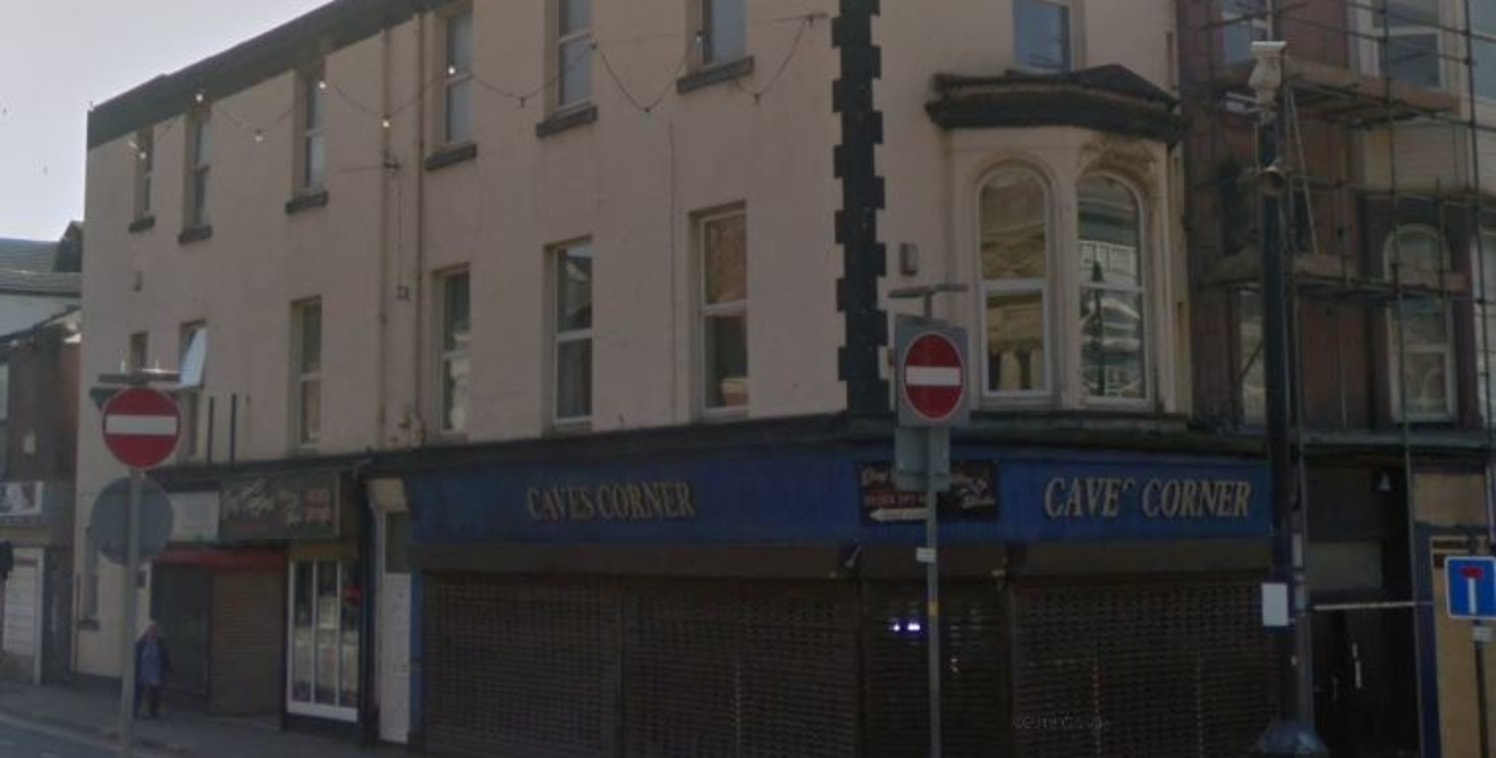 A substantial corner property arranged over 3 floors. Situated in the Town Centre opposite Blackpool library at the top of Queen Street with Walkabout and Slug & Lettuce close by. Corner retail shop and basement plus 2 small shops and 2 self-containe...