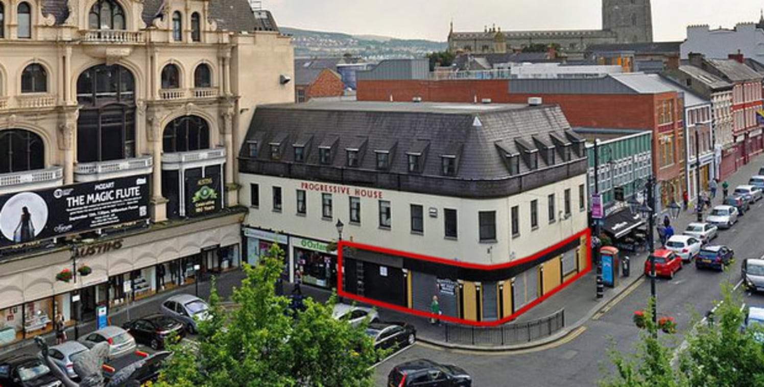 25 / 26 The Diamond, Londonderry, BT48 6HP, | OKT (O'Connor Kennedy Turtle) - Commercial Property Consultants