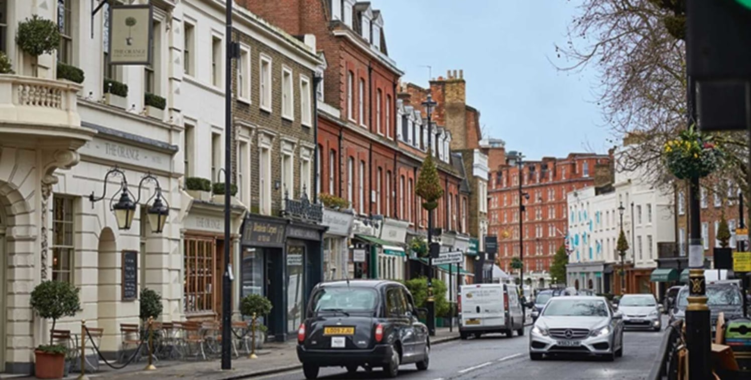 A1 Retail lease for sale in Pimlico on Lupus Street. The premises is arranged over the basement and ground floor. The total floor area over the basement and ground floor is 1.100 sq. ft....