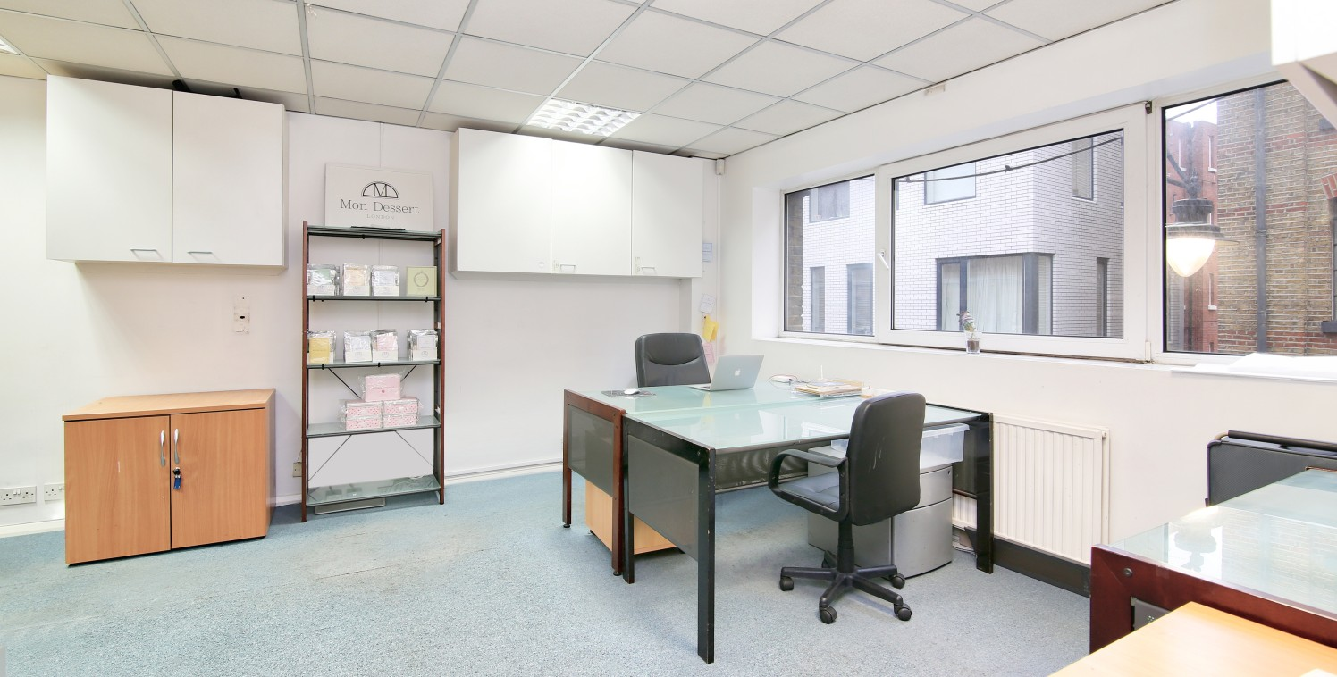 Available immediately and due to be refurbished, this self-contained office is situated on the ground and first floors. The office space is currently split into smaller office spaces which will be opened up to create an open plan working area. The of...
