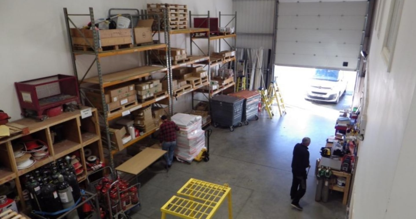 Warehouse/Light Production Space with Offices and Minimum of 9 car spaces