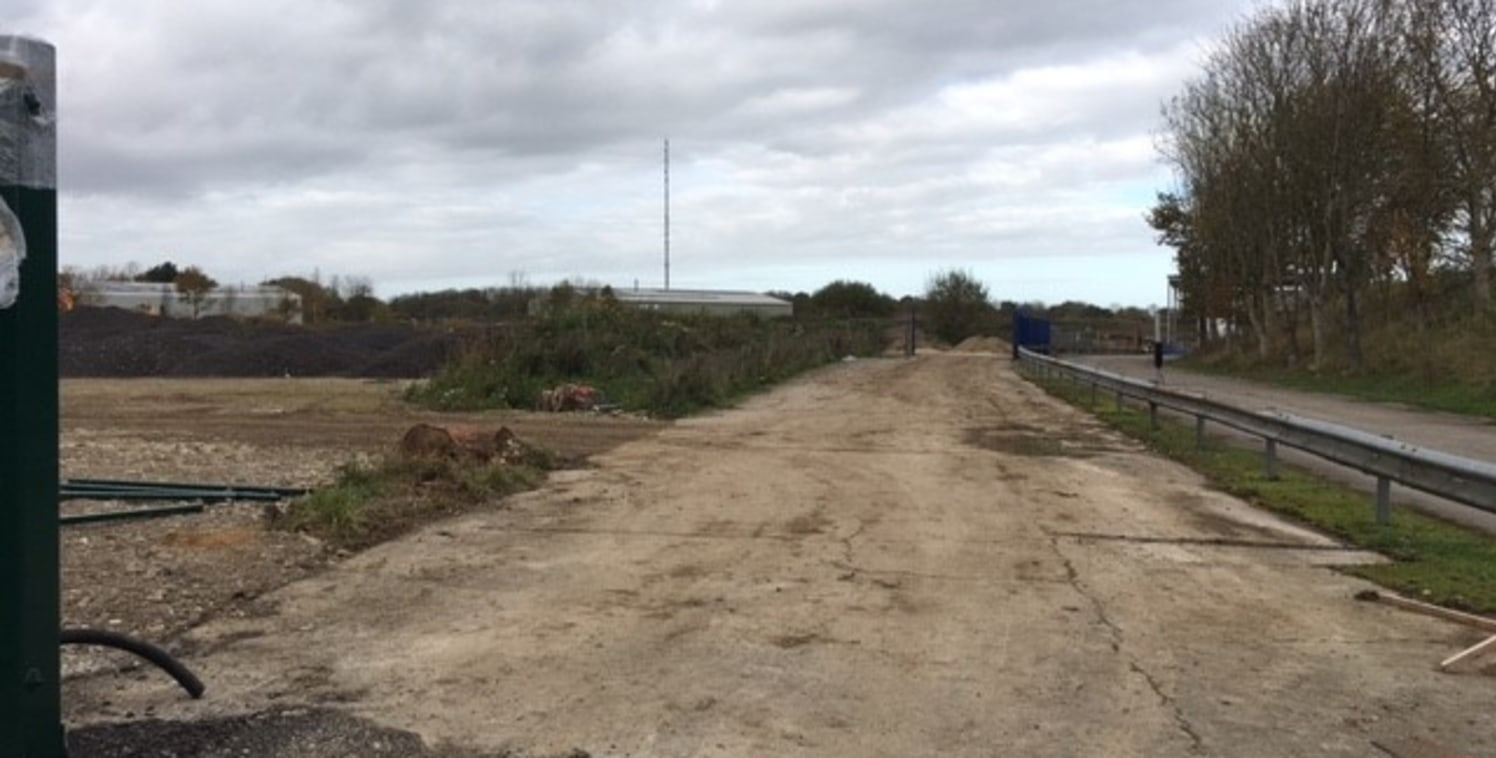 Up to 1 acre of commercial land available as a whole or in parts  The land has planning for storage (B8) and Research & Development uses.  The site is in the process of being surfaced, fenced, gated and services supplied.