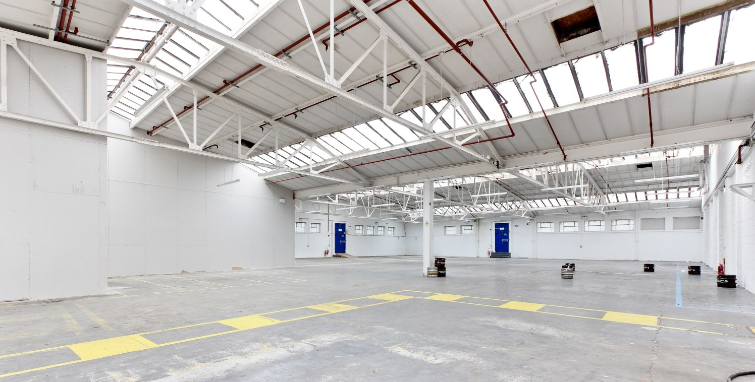 The property previously formed part for the Peek Frean Biscuit Factory but was converted into warehouse and office accommodation. The unit was last used by a film production company for storage and office space. Access into the unit is available via...