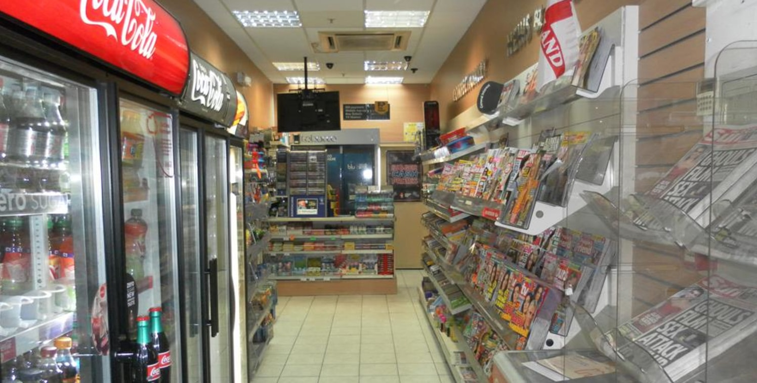 Leasehold Newsagents Located In Redditch For Sale\nThe Kingfisher Shopping Centre\nRef 2309\n\nLocation\nThis respected Newsagent is located within The Kingfisher Shopping Centre, Redditch. The business benefits from a high volume of footfall and pas...