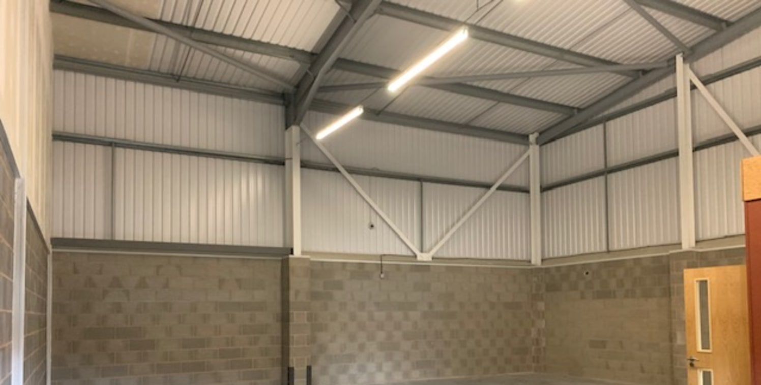 Springwell Point comprises a high quality terrace of four light industrial/ trade units ranging in size from 1,430 sq ft (133 sq m) to 2,010 sq ft (187 sq m).   Only one unit is currently available to let of 1,430 sq ft, and is available immediately.