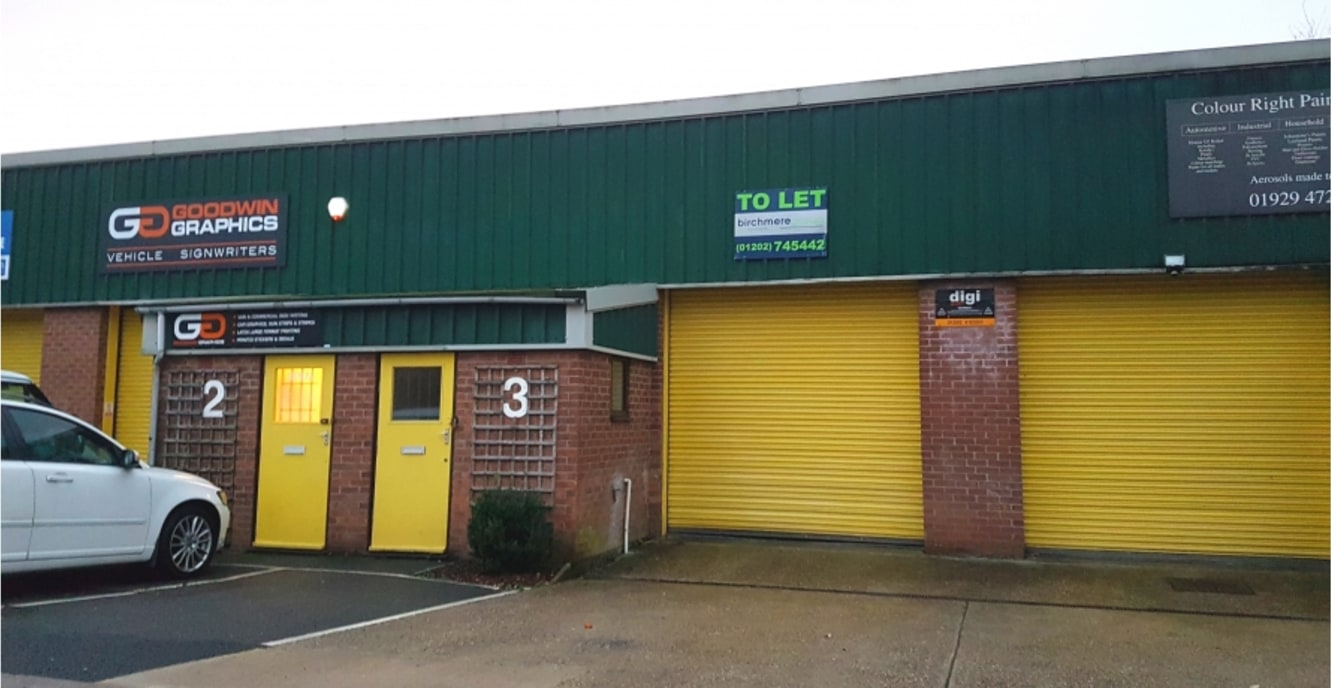 Small Industrial Premises Close to Main Transport Routes