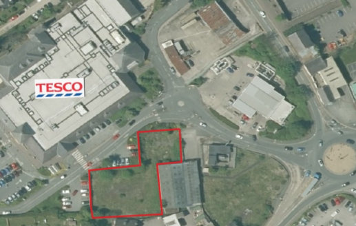 A development opportunity subject for a variety of uses subject to planning.   Offers are invited in excess of £150,000.  0.44 Acres