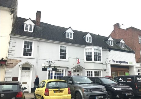 B1 Offices  Three storey office building  High Street location  Popular market town  Extending to 123m² (1324ft²)   Asking Rent £15,000 per annum