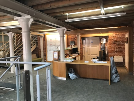 Superb high quality office available for immediate occupation in landmark converted mill building.  The office has been finished to an exceptional standard and comes fully furnished (18 desks, board room table, reception area, pool table)  Prominent...